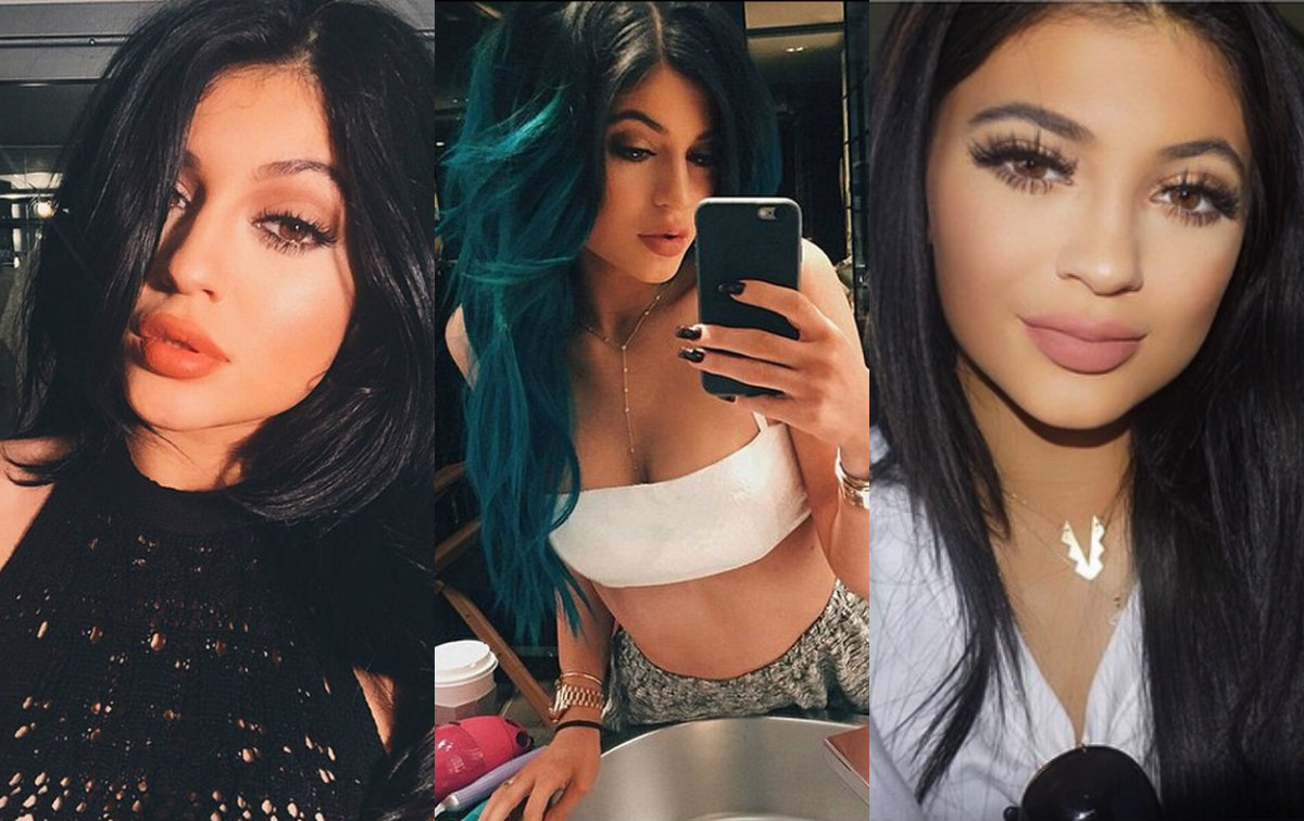 Kylie Jenner collage