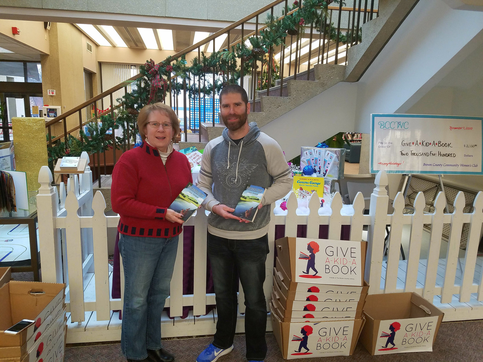 Merry Booksmas Green Bay's Cory Groshek Donates $3,000 Worth of His Debut Children's Book to Seven Charities
